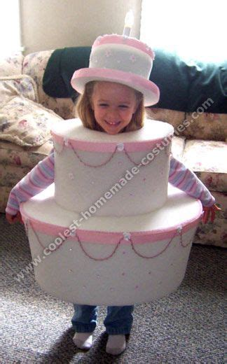 coolest homemade halloween costume ideas cake costume