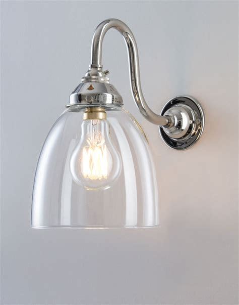 Kitchen Wall Lights Uk School Electric Glass Industrial Wall Light