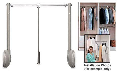Closet Rod Lift Mechanism by Sugatsune Taw 1200 G Tallman Closet Rod Lift