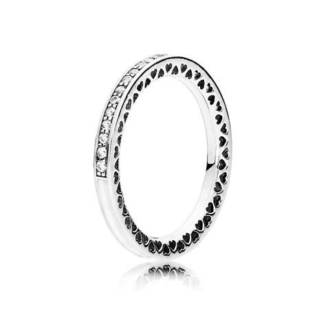 pandora rings silver radiant hearts of pandora ring pandora estore