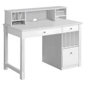 deluxe solid wood desk with hutch white walker target