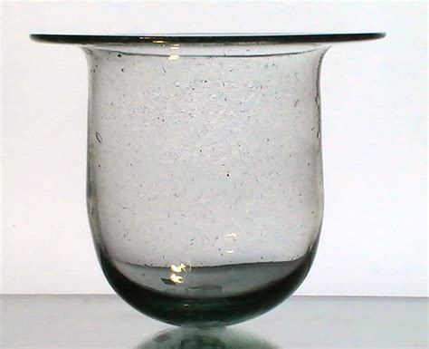Flat Glass Candle Holders Hanging Candle Holder Flat Wide 7 3 8 X 7 Xl Heavy