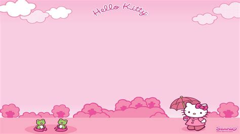 download themes hello kitty untuk laptop hello kitty computer backgrounds wallpaper cave