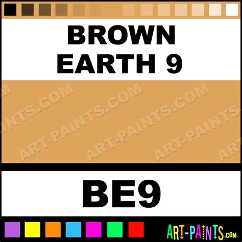 brown earth 9 soft pastel paints be9 brown earth 9 paint brown earth 9 color unison soft