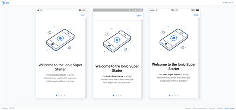 ionic tutorial conference ionic super template image