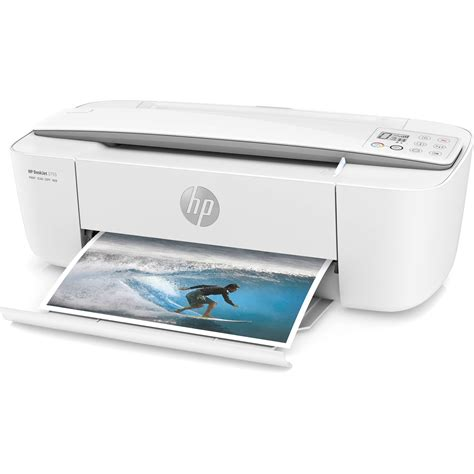 Printer Deskjet All In One hp deskjet 3755 all in one inkjet printer white j9v91a b1h b h