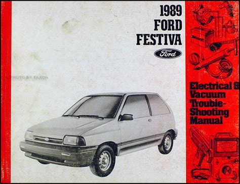 how to download repair manuals 1992 ford festiva security system 1989 ford festiva repair shop manual original