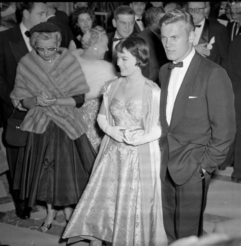 A C C E P T Benita Heels Beige natalie wood and tab arriving at the 28th academy