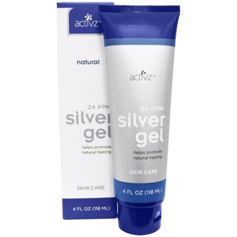 Silber Nägel by Activz Silver Gel 24 Ppm 4 Fl Oz 118 Ml Na Bazarek Pl