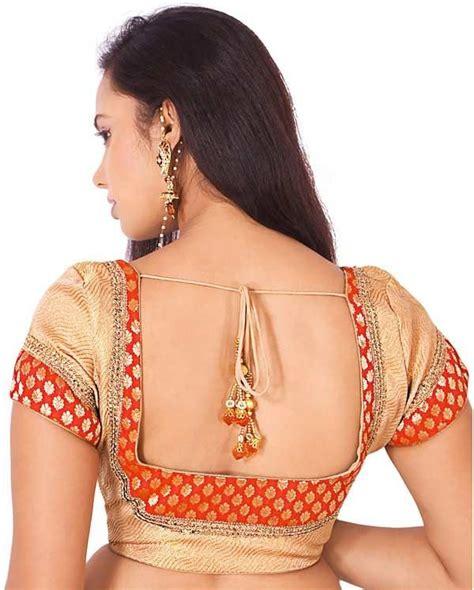Luxury Blouse blouse back designs back neck designs for designer blouses