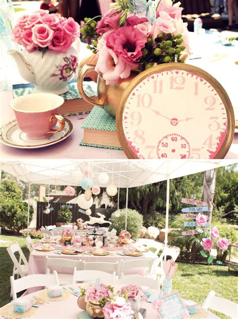 alice wonderland bridal tea party vintage alice in wonderland tea party hostess with the