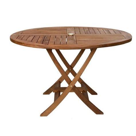 teak round table tr48