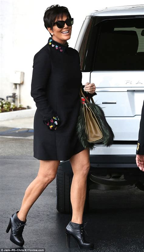 does kris jenner have a long neck for short hair bruce jenner steps out amid claims he s dating ronda