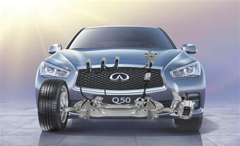infiniti q50 world steer by wire technology