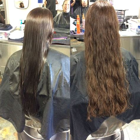 ponytail perm description ponytail perm with lavender rods for a light