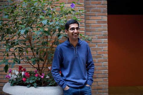 sundar pichais  interview talks  google