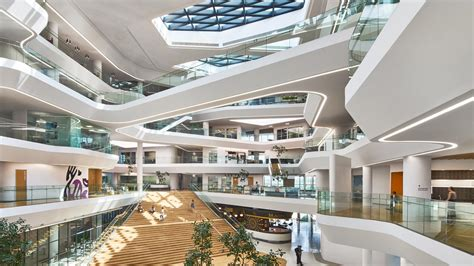 design university in indonesia horizontal is the new vertical in aedas recently opened