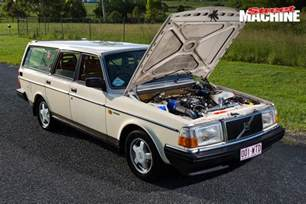 turbo v8 powered volvo 240 sleeper wagon machine