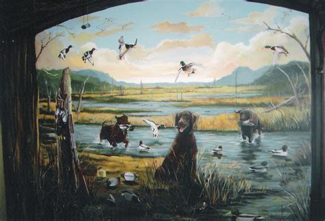 duck wall murals custom murals and trompe l oeil niches ceilings houston walls