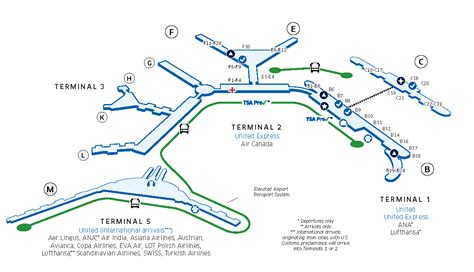 chicago ohare map chicago o hare int l ord airport map united airlines