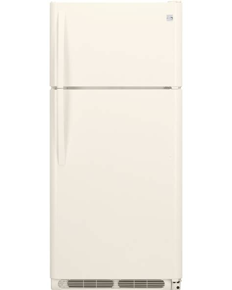 kenmore 60504 18 cu ft top freezer refrigerator w glass