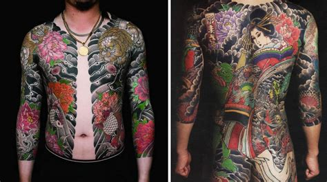 yakuza tattoos 16 fascinating yakuza tattoos and their symbolic