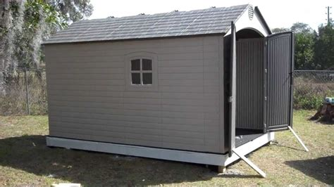 8x12 Metal Shed by Orlando Handyman Installs Lifetime 8 X 12 5 Outdoor
