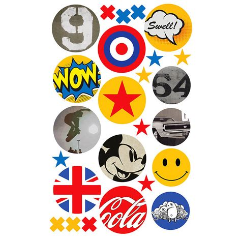 pop wall stickers children s pop fabric wall stickers by koko