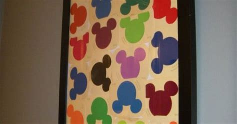 free disney paint sles at home depot make a display in our mickey mouse bathroom