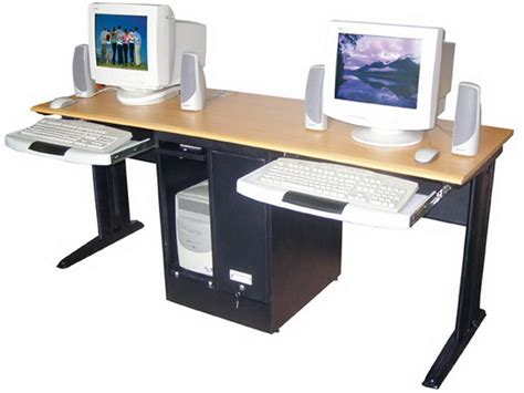 desk for two 2 person computer desk stroovi