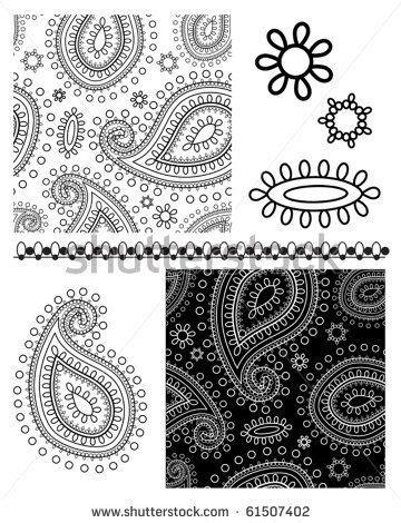 682 Best Stencils Images On Pinterest Stencil Arabesque And Stencil Templates Paisley Stencil Templates Free