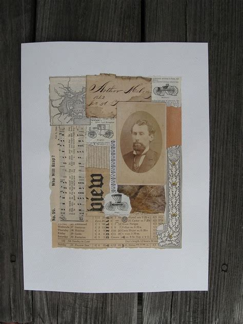 And East Found On Mixed Mixed Media Found Paper Collage Papercoyote Photos Paper And Medium