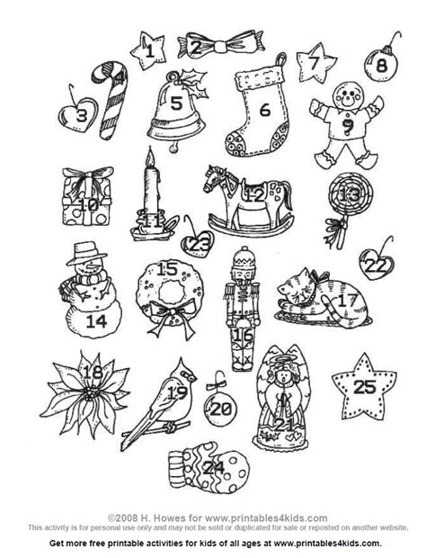 christmas tree advent calendar coloring page 2014 advent calendar for kids free new calendar template