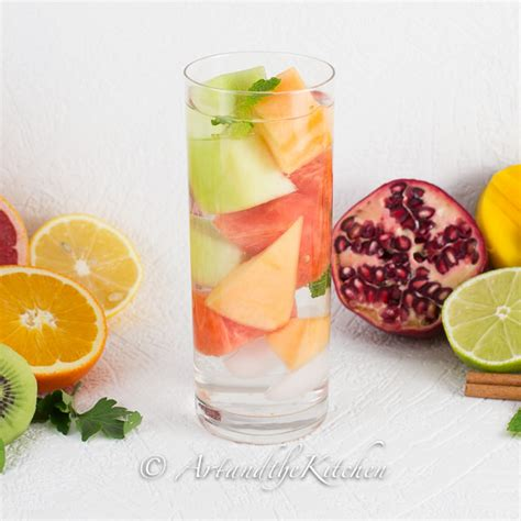 Detox Medley by Diet Boost Flavored Water Recipes And The Kitchen
