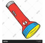 Vector Y Foto Linterna De Dibujos Animados  Bigstock