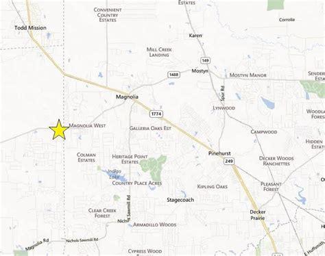 texas fm road map land for sale fm 1488 at joseph road magnolia tx 77355