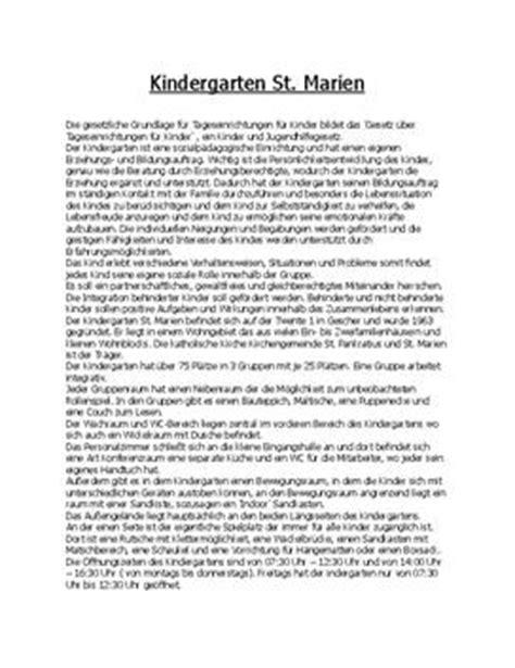 Tagesbericht Schreiben Muster Kindergarten Beschreibung Praktikumsmappe Schulhilfe De