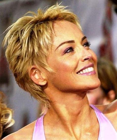 Sharon Stone Short Hairstyles Tumblr : 2014 Women Haircuts