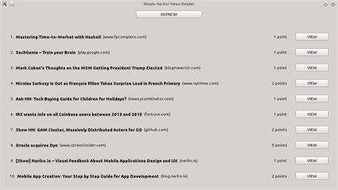 Qt Json Tutorial | qt network and json exle a simple hacker news reader