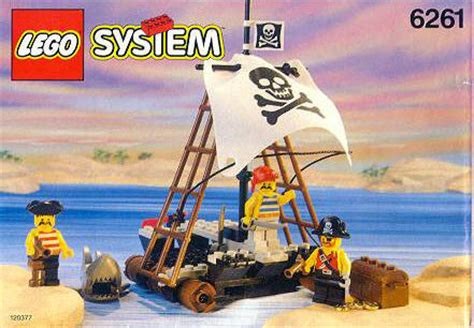 Bounty Minis Isi 7 Original 6261 raft raiders brickipedia fandom powered by wikia