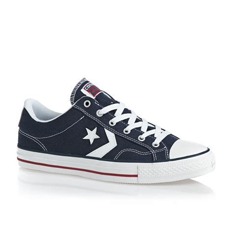 converse shoes converse player shoes navy white free uk delivery