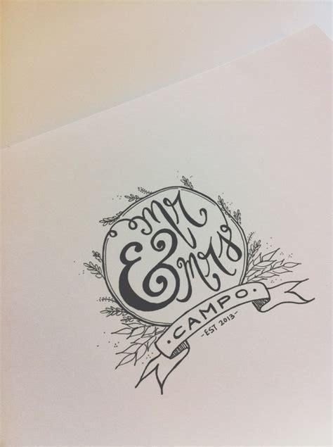 Handmade Logo Inspiration - inspiration handmade wedding logo all that wedding