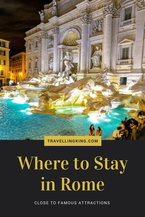 where to stay in rome where to stay in rome to attractions