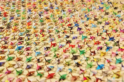 A Thousand Origami Cranes - great thousand origami cranes 2018