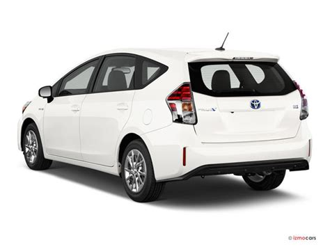 2016 toyota prius v pictures angular rear u s news world report