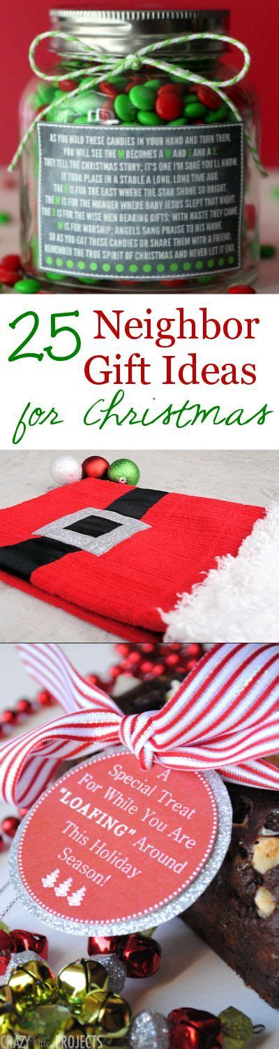 gift ideas cute christmas gifts and neighbor gifts on