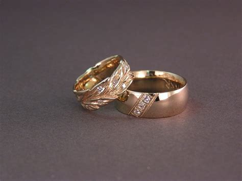 gold engagement ring designs for wedding rings