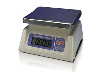 weighing boat function a d weighing bench scales