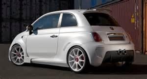 White Abarth 500 Zender S White Abarth 500 Corsa Stradale Concept
