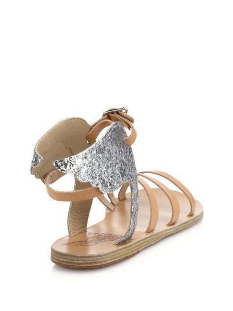 Sandal Hermes Silver Tr11 14 hermes leather wing sandals hermes handbag
